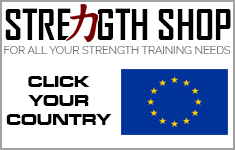 For better shipping rates to Europe Strength Shop EU