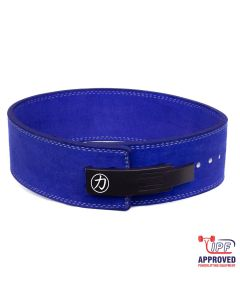 Strengthshop 10mm Lever Belt - Blue - IPF Approved