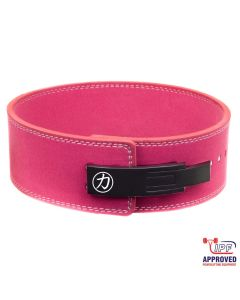 Strengthshop 10mm Lever Belt - Pink - IPF Approved