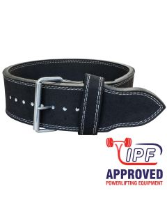 Strengthshop 13mm Single Prong Buckle belt - IPF APPROVED