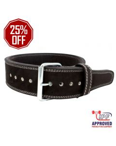 """Strength Shop 13mm Single Prong Buckle belt 3"""" Wide - IPF Approved"""