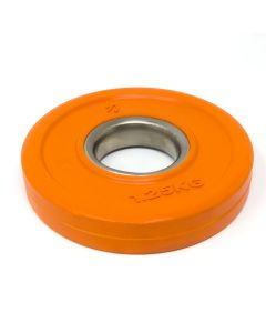 1.25kg Rubber Coated Plate - Coloured