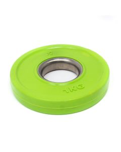 1kg Rubber Coated Plate - Coloured