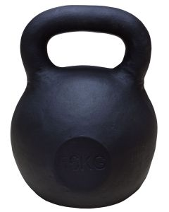 Kettlebell, Black Powder Coated, 56kg - PREORDER FOR DISPATCH BY 19TH AUGUST