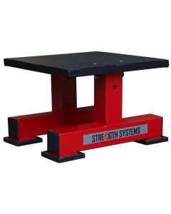 Adjustable Plyo/Squat Box - Red/Black