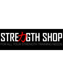 Strength Shop Banner - Black - 6ft x 2ft