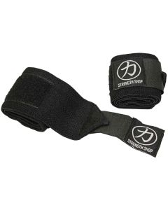 Strength Shop Hercules Wrist Wraps - Black