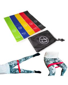 Strength Shop Lite Latex Bands / Glute Bands - Pack of 5