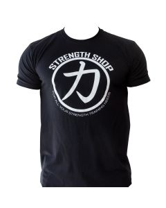 Strength Wear Circle T-shirt - Black