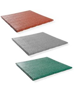 Coloured Rubber Gym Mat - 30mm (1m x 1m) - Minimum Order x 20, 6 week delivery