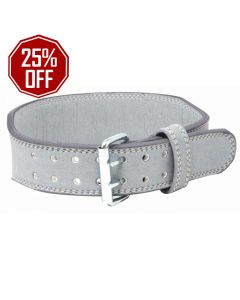 Strengthshop Weightlifting Double Prong Buckle belt - Grey