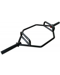 Heavy Duty Black Olympic Hex/Trap Bar 1.4m