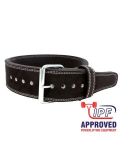 "Strengthshop 13mm Single Prong Buckle belt 3"" Wide - IPF APPROVED"