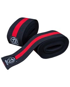 Strengthshop Thor Knee Wraps - Inferno Red / Black