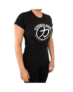 Strength Wear Women's - Circle Logo T-Shirt - Black