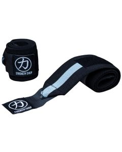 Strength Shop Odin Wrist Wraps - Grey/Black