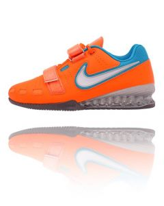 Nike Romaleos 2 - Weightlifting Shoes - Orange / Blue