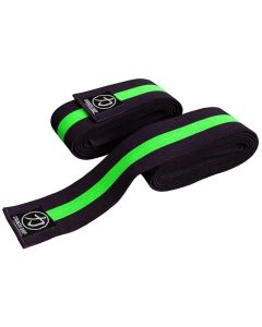Strength Shop Thor Knee Wraps Green / Black -2.5 metres