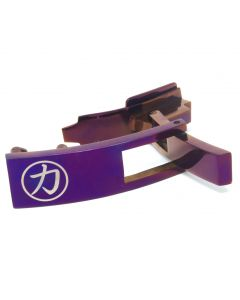 Strength Shop Steel Lever Buckle - Purple w/lifetime warranty