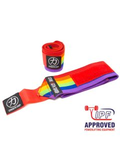 Strengthshop Thor Wrist Wraps - Rainbow - IPF APPROVED