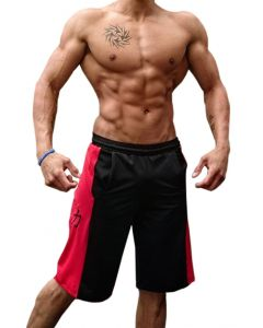 Strength Shop Training Shorts - Red/Black - Size M and XXL ONLY