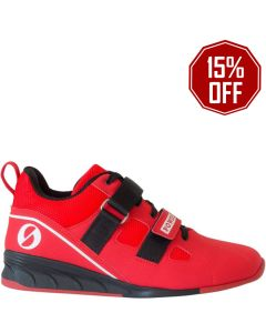 Sabo Powerlift Weightlifting Shoes - Red