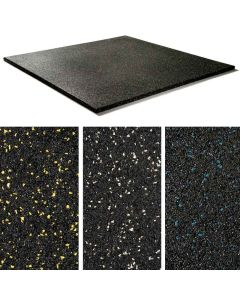 Speckled Rubber Gym Mat - 20mm - Minimum Order x 20 (1m x 1m), 6 week delivery