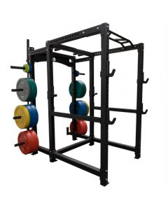 Strength Shop Riot Power Cage with Extension Attachment - 3mm Thick Steel