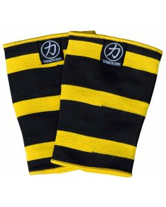 Strengthshop Double Ply Thor Knee Sleeves - Yellow/Black