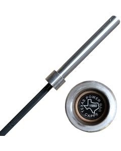 Original Texas Power Bar By Buddy Capps - Now with Chrome Coated Sleeves
