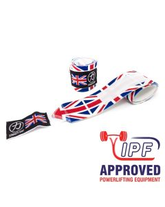 Strength Shop Thor Wrist Wraps - Union Jack - IPF APPROVED