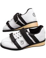 Strength Shop Coyotes - Weightlifting Shoes - White/Black - Size UK 7.5,11 & 13 ONLY